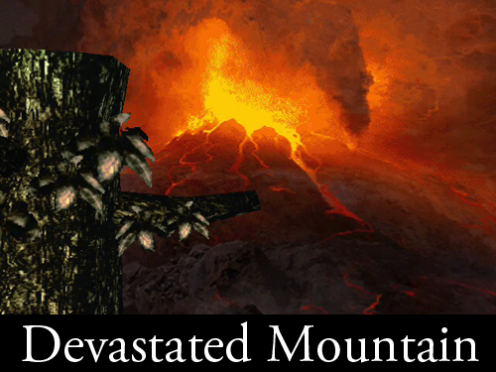 Devastated Mountain