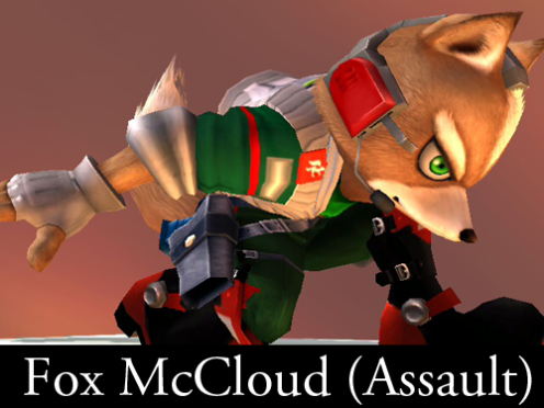 Fox McCloud (Assault)